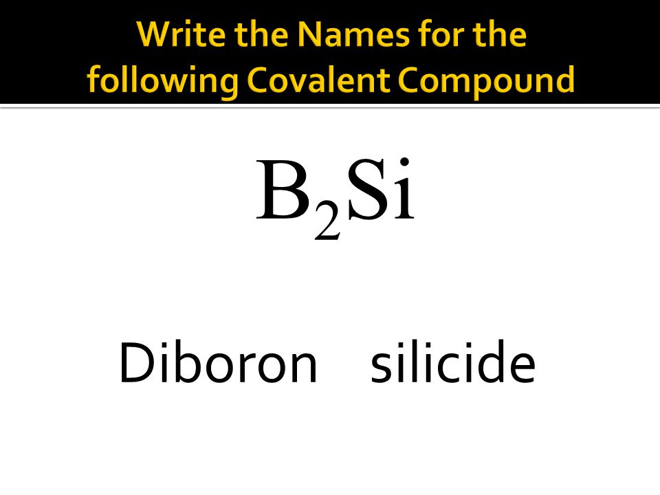 B 2 Si Diboron silicide