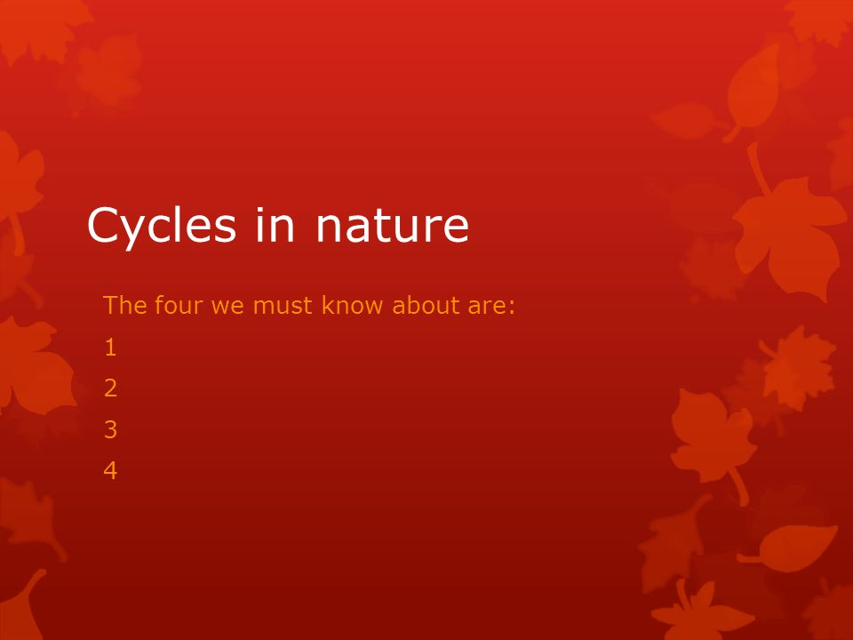 The carbon cycle  Add an image of the cycle