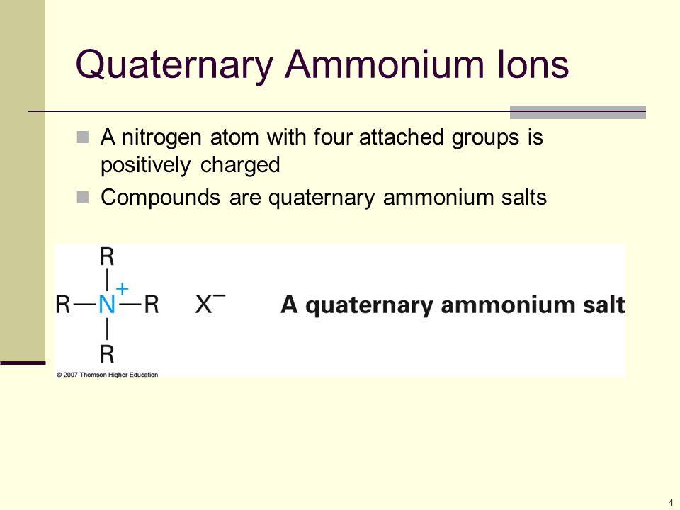 15 General Patterns of Basicity Table 24.1: pK a values of ammonium ions Most simple alkylammmonium ions have pK a s of 10 to 11 Arylamines and heterocyclic aromatic amines are considerably less basic than alkylamines (conjugate acid pK a 5 or less)