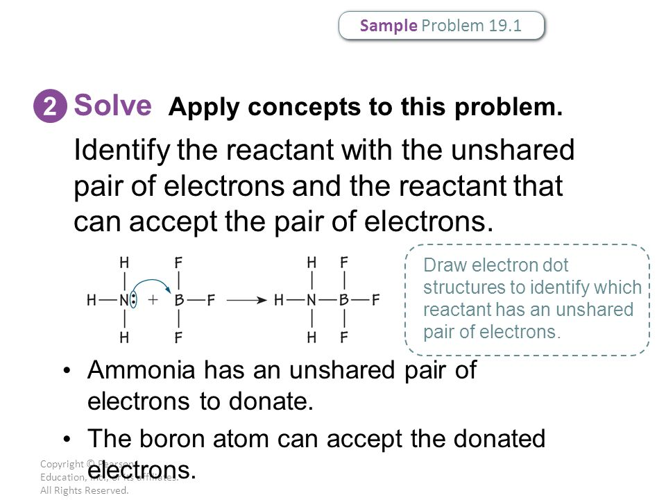 Copyright © Pearson Education, Inc., or its affiliates. All Rights Reserved. Solve Apply concepts to this problem. 2 Identify the reactant with the un