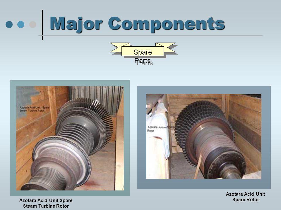 Major Components Spare Parts Azotara Acid Unit Spare Steam Turbine Rotor Azotara Acid Unit Spare Rotor