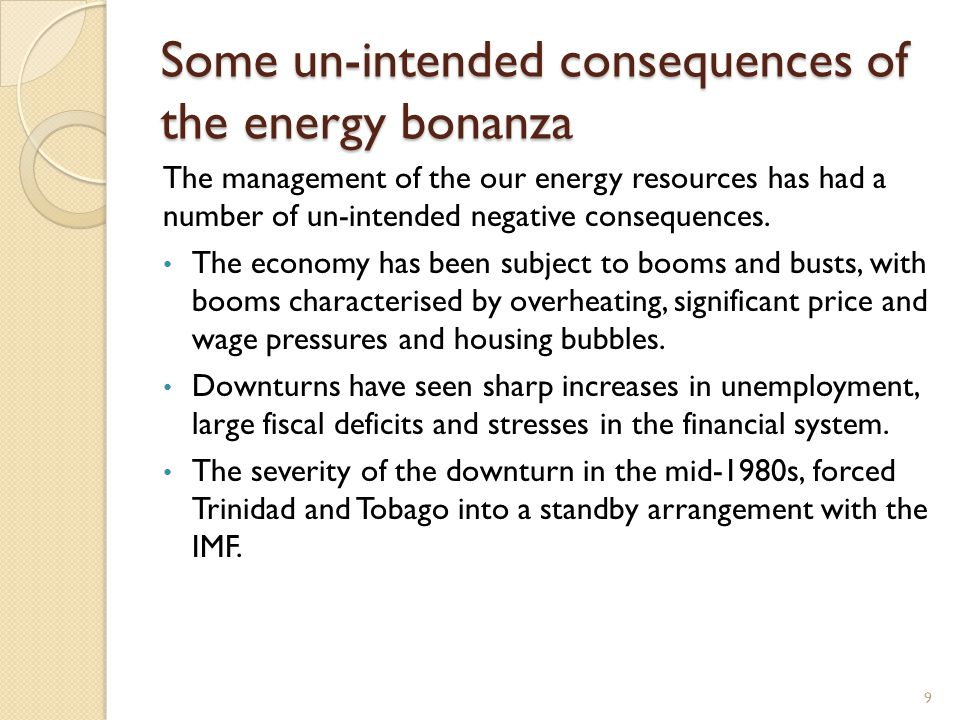 Un-intended Consequences (cont'd) Evidence points to some increase in income inequality.