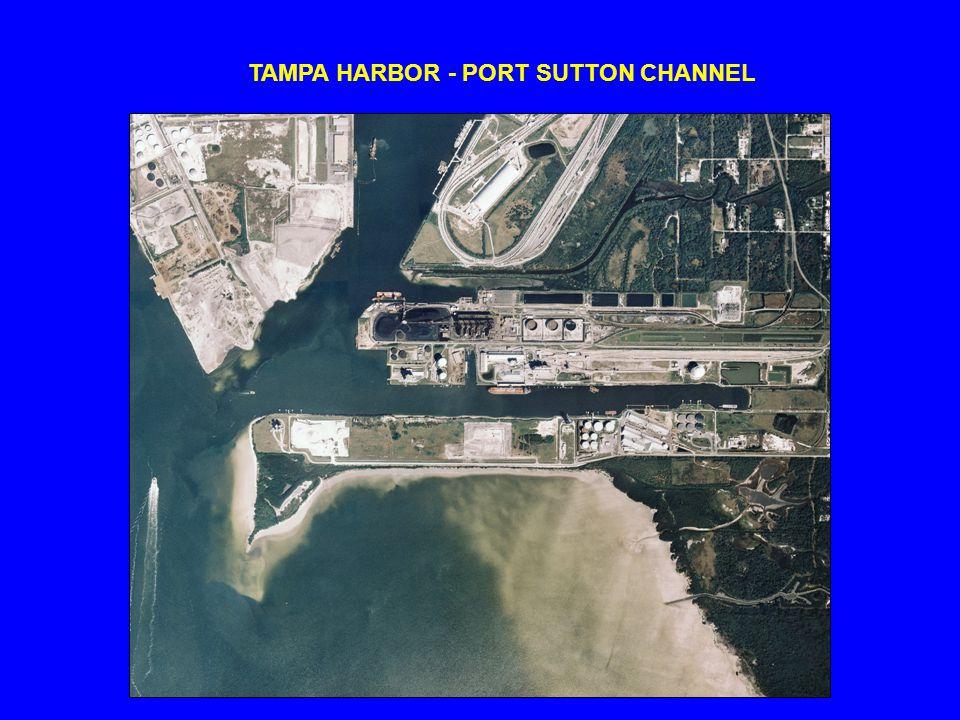 TAMPA HARBOR - PORT SUTTON CHANNEL
