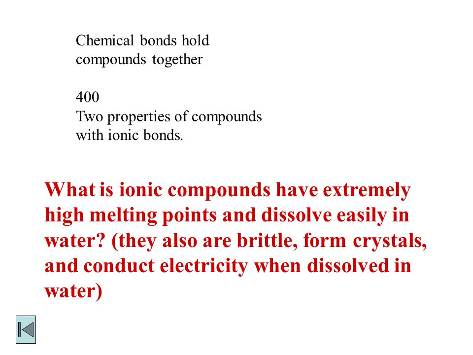 Chemical bonds hold compounds together 300 The way Nitrogen atoms are held together in N 2.