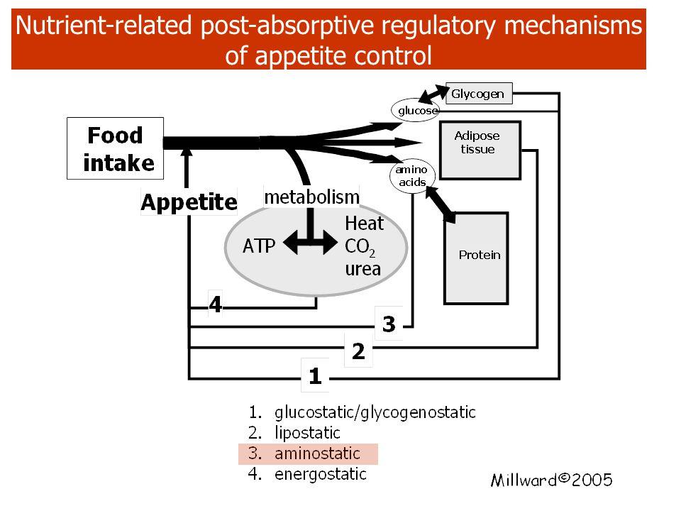 Appetite regulation: overall mechanisms