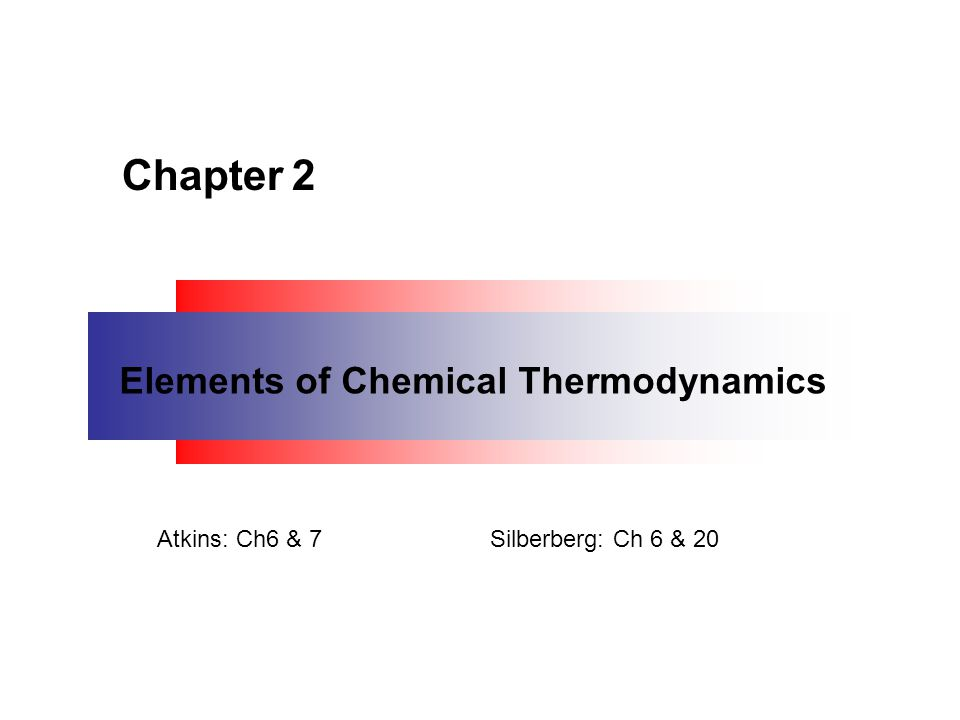 Thermochemistry is a branch of thermodynamics that deals with the heat involved with chemical and physical changes.