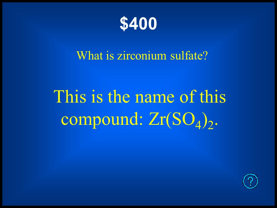 $200 What is aluminum oxide (or aluminium oxide if you are in England).