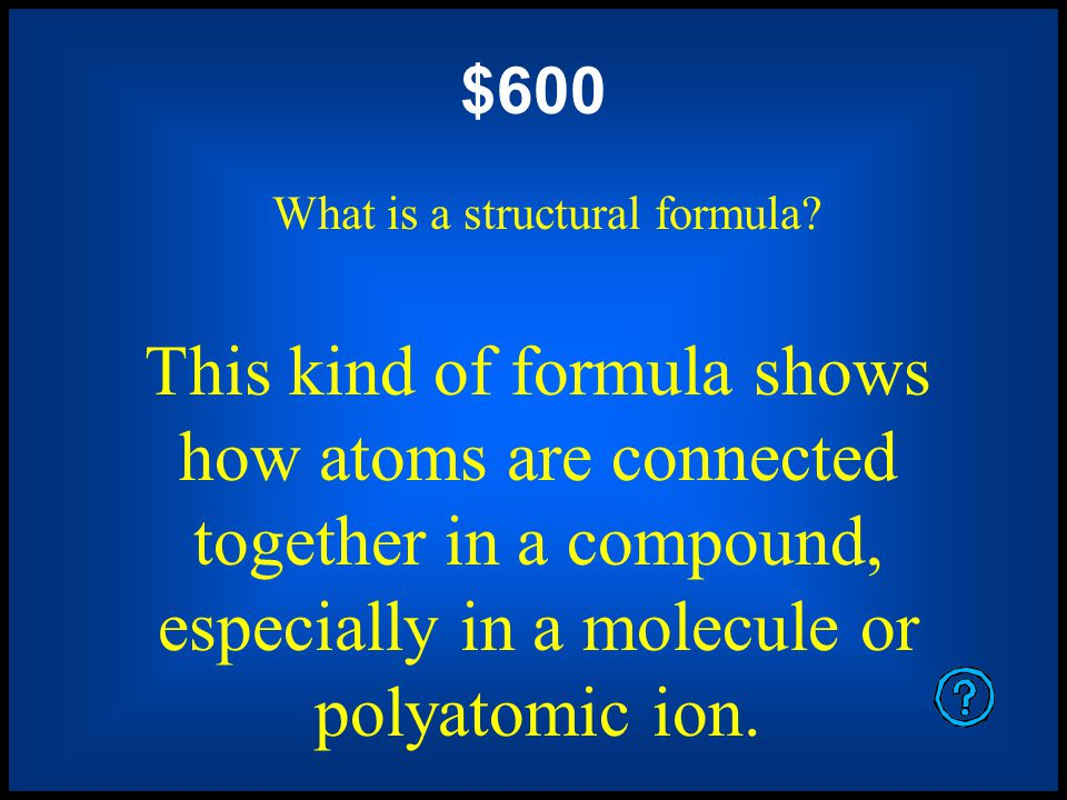 $400 What is an empirical formula.