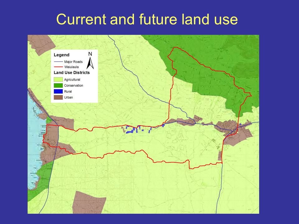 Background on watershed plan....