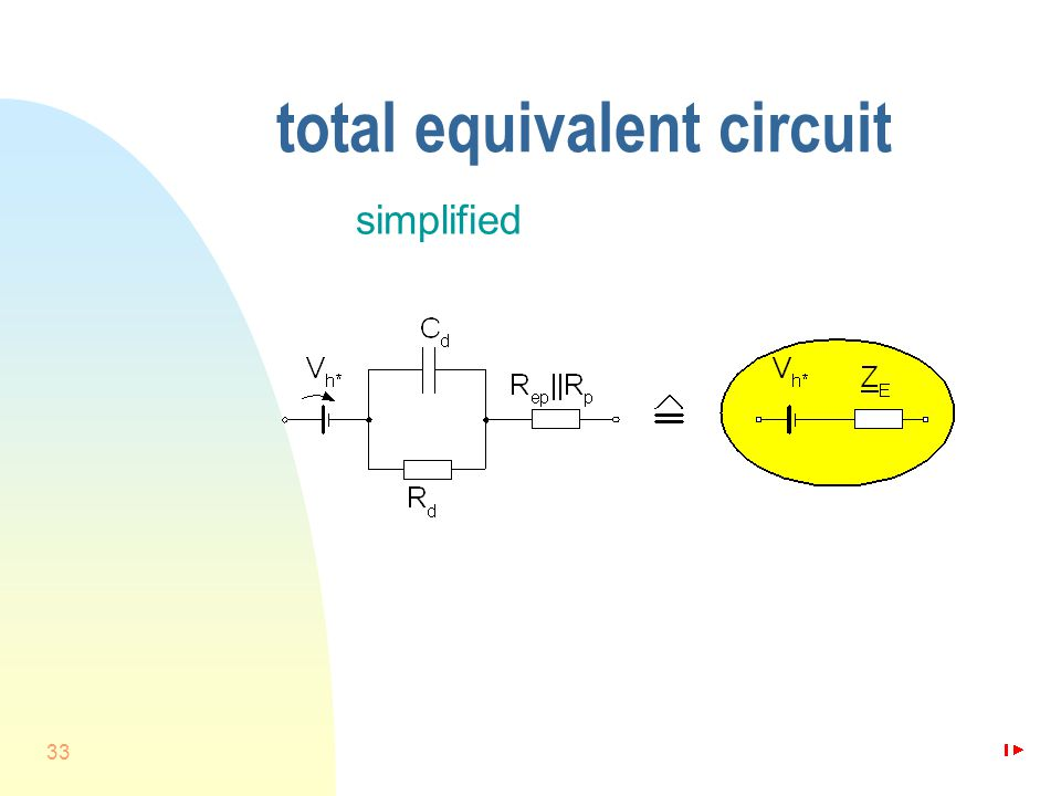 33 total equivalent circuit simplified