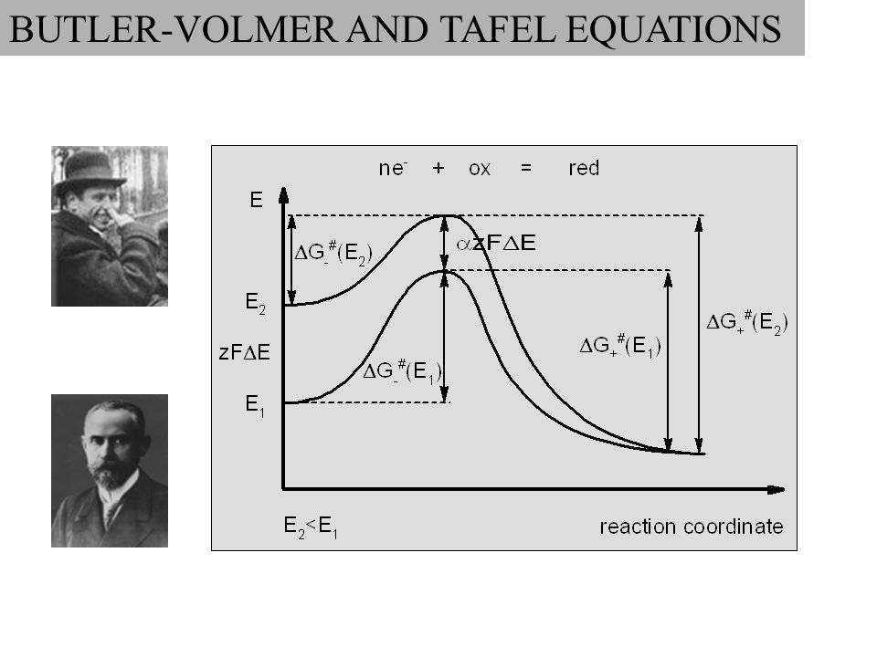 BUTLER-VOLMER AND TAFEL EQUATIONS