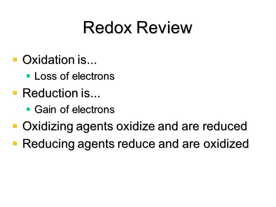 Redox at the heart of the matter  Zn displaces Cu from CuSO 4 (aq)  In direct contact the enthalpy of reaction is dispersed as heat, and no useful work is done  Redox process:  Zn is the reducing agent  Cu 2+ is the oxidizing agent