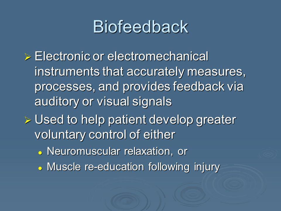 Biofeedback Jennifer L.