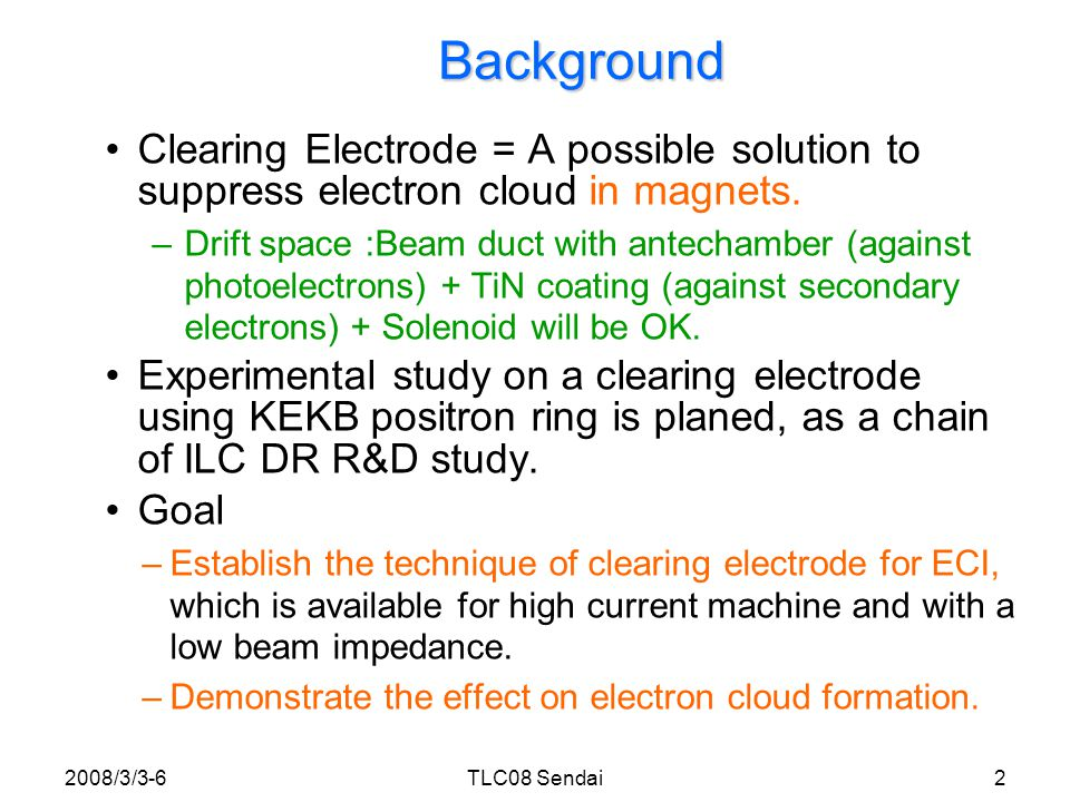 Clearing Electrode Simulation (by L.