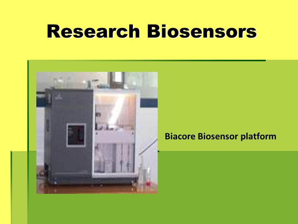 Research Biosensors Biacore Biosensor platform