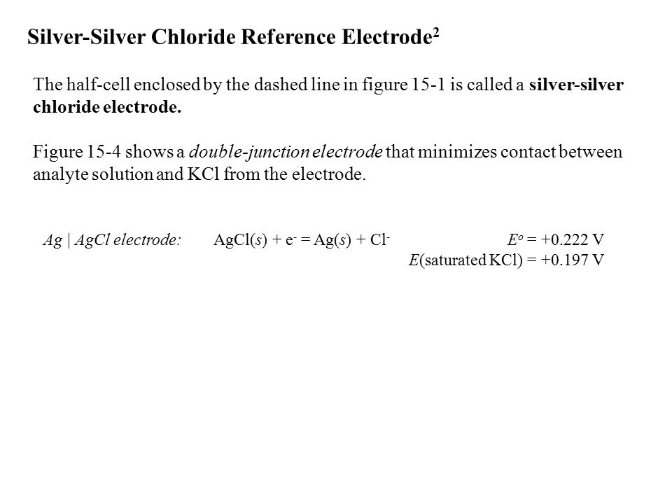 14-7 Using Ion-Selective Electrodes Electrodes respond to the activity of uncomplexed analyte ion.