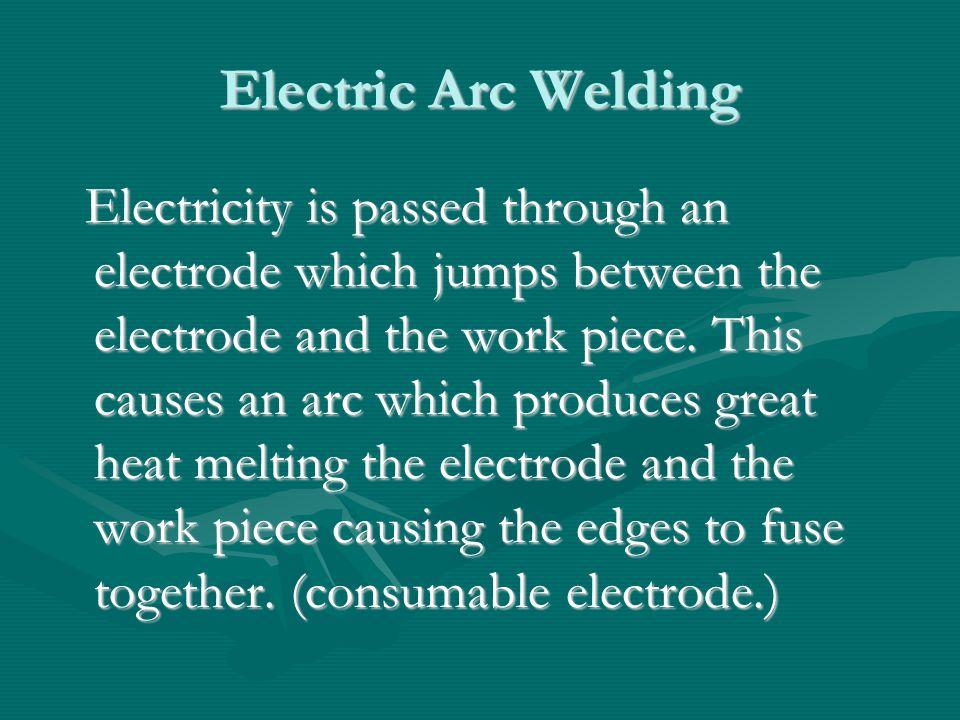 Manual Metal Arc Welding.