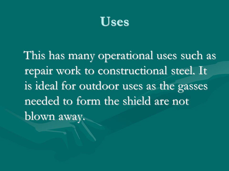 Tungsten Arc Gas Shielded Welding. (TAGS/TIG) 