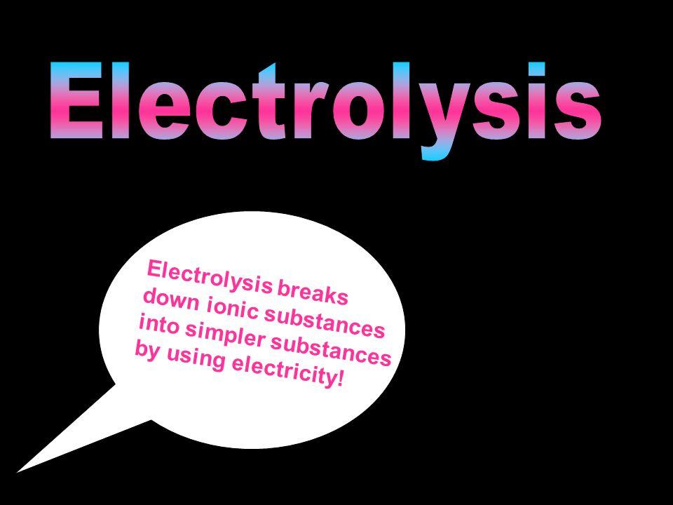 Ionic substances.