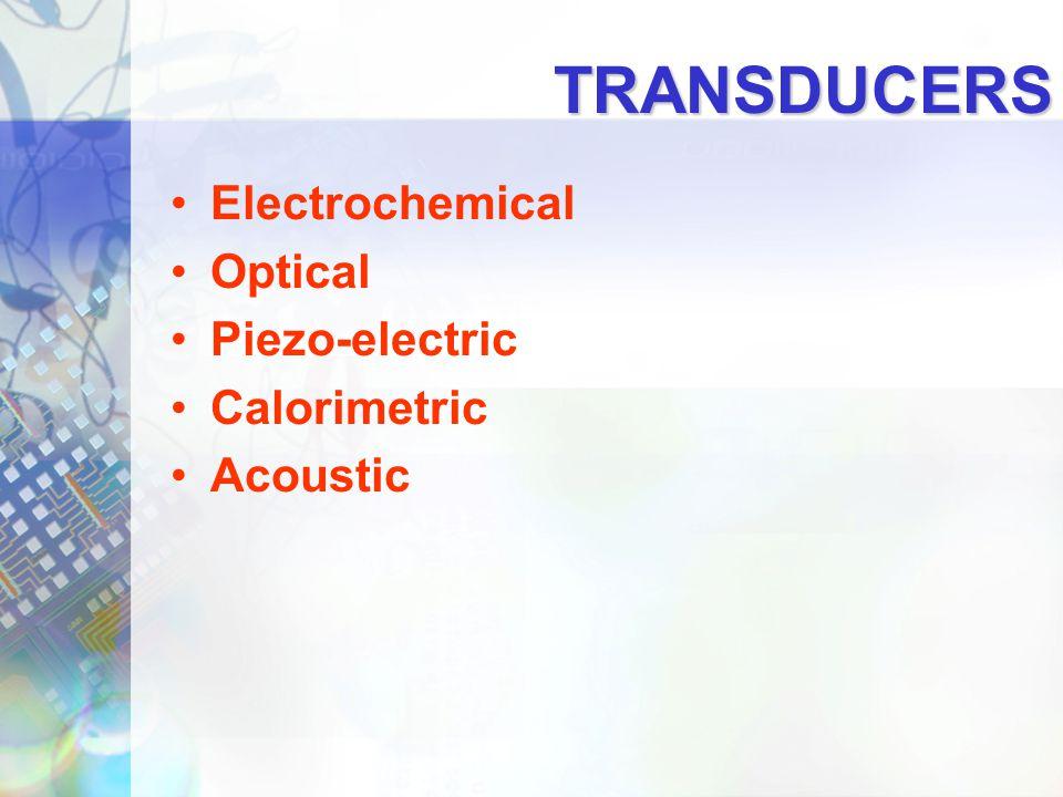Electrochemical Transducers 3.Conductimetric Conductimetric methods use non-Faradaic currents.