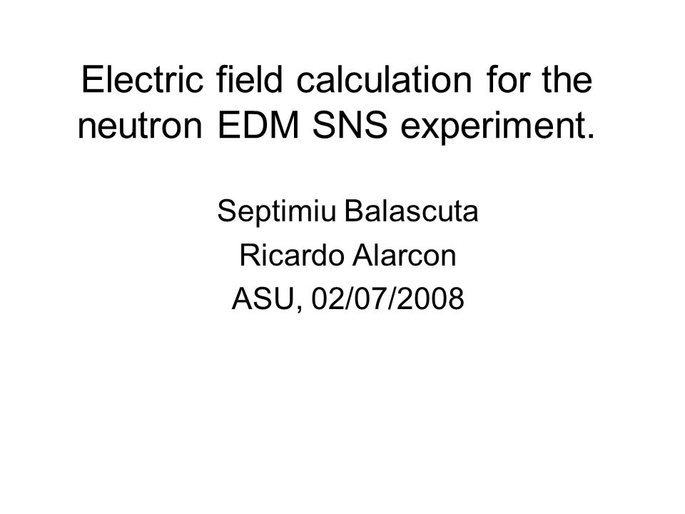 The effect of the optical guides on the electric field uniformity inside the cell (for two models of the guides).