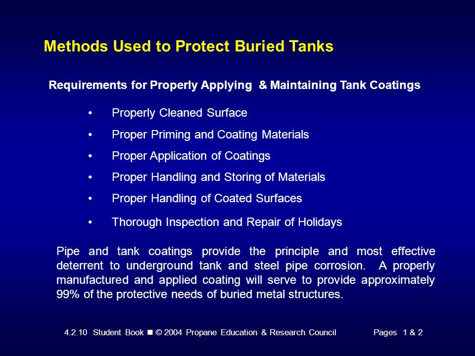 4.2.10 Student Book © 2004 Propane Education & Research CouncilPage 14 Attaching the Tank Electrode Lead Wire Conductive Adhesive Process Step 13: Apply pressure around the electrode boot to assure complete bond to the tank.