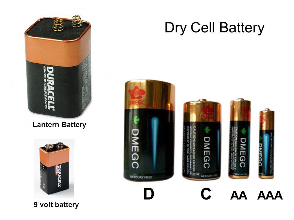 D C AA AAA Lantern Battery 9 volt battery