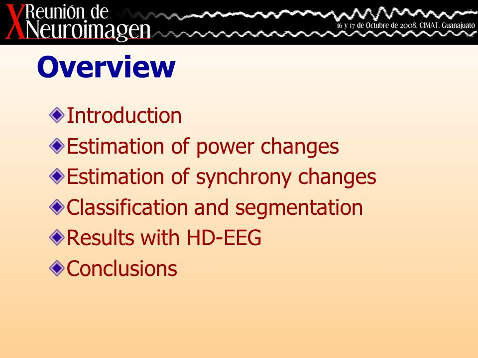 Introduction Electroencephalography (EEG) consists of voltage measurements recorded by electrodes placed on the scalp surface or within the cortex.