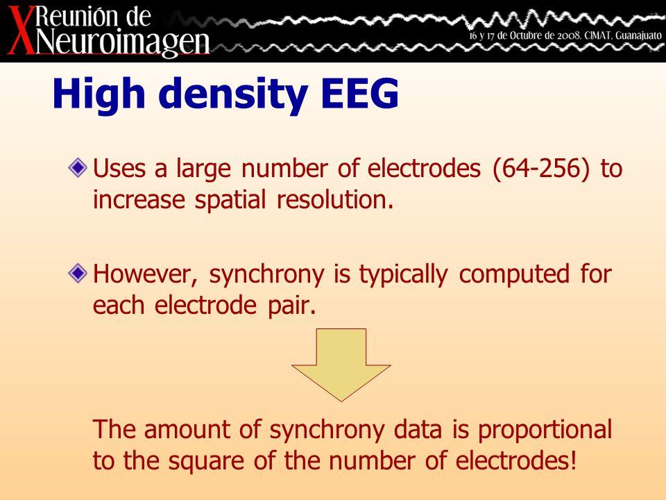 Results: Go – 19 electrodes Synchrony data Segmented data Region mapRepresentative patterns