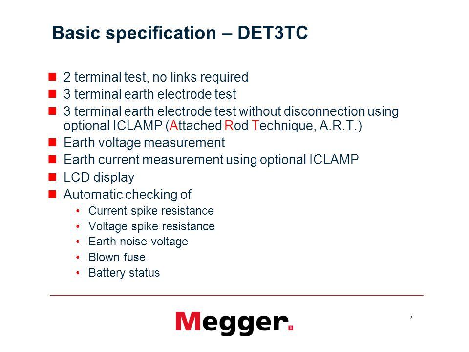 19 Accessories – terminal adaptor set