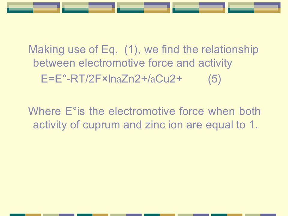 Making use of Eq.