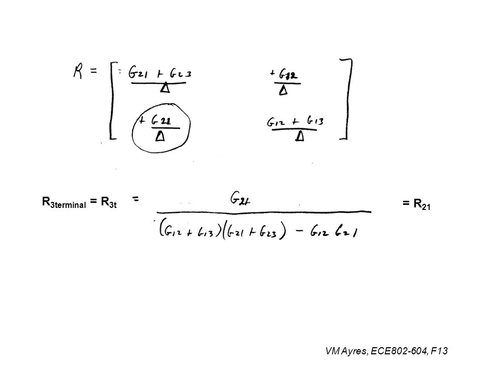 = R 21 R 3terminal = R 3t