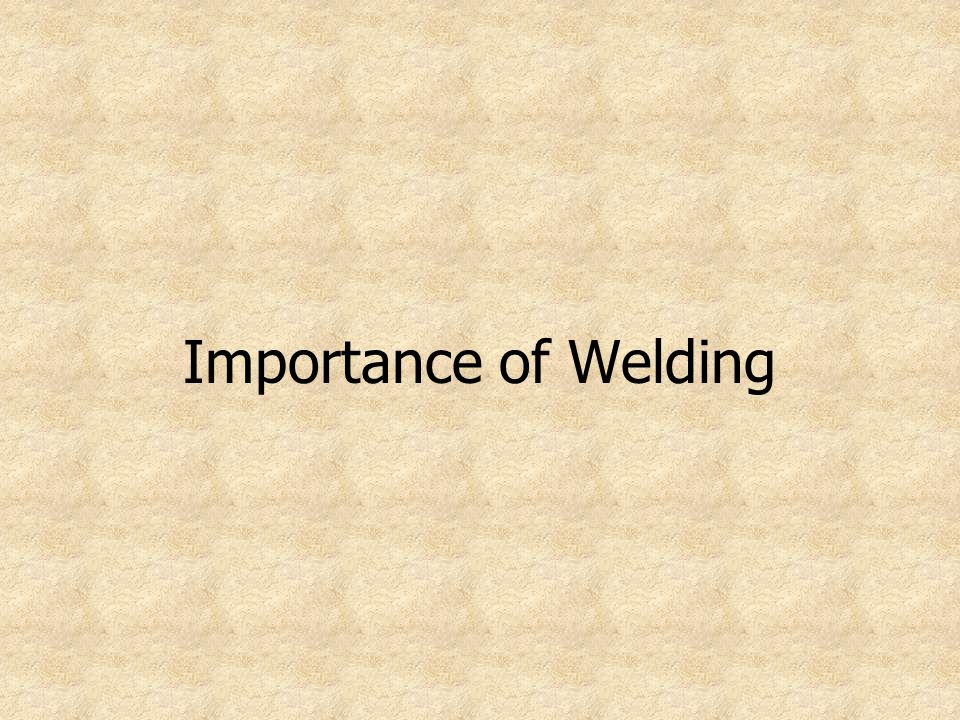 Prior to beginning the welding process, take the time to prepare the metal.