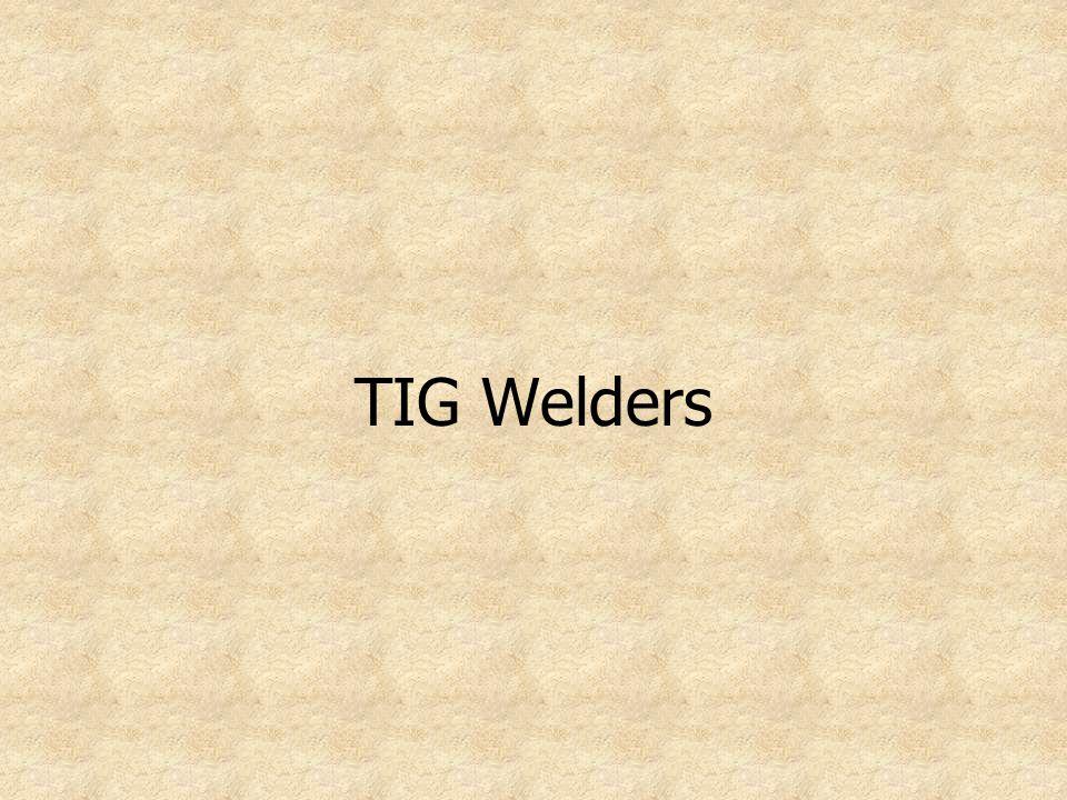TIG Welders