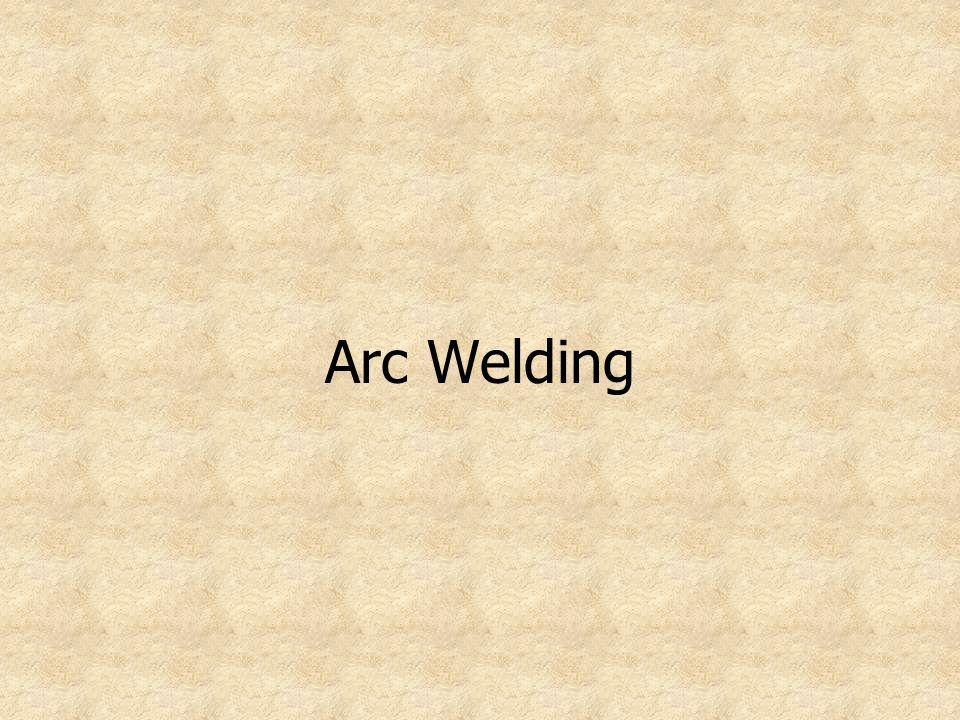 Types of Arc Welding Machines