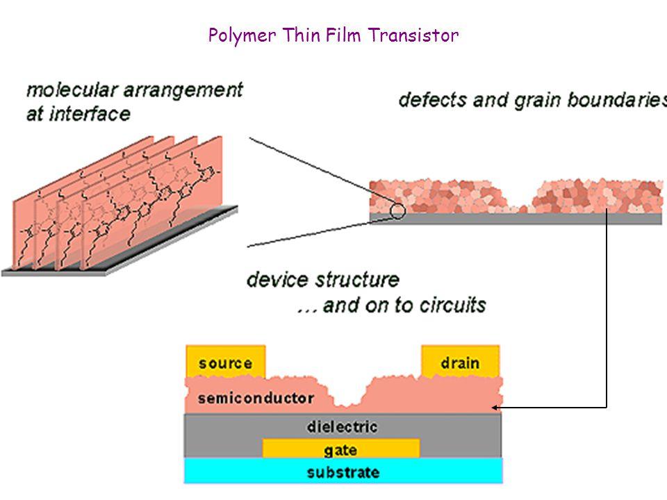 Polymer Thin Film Transistor