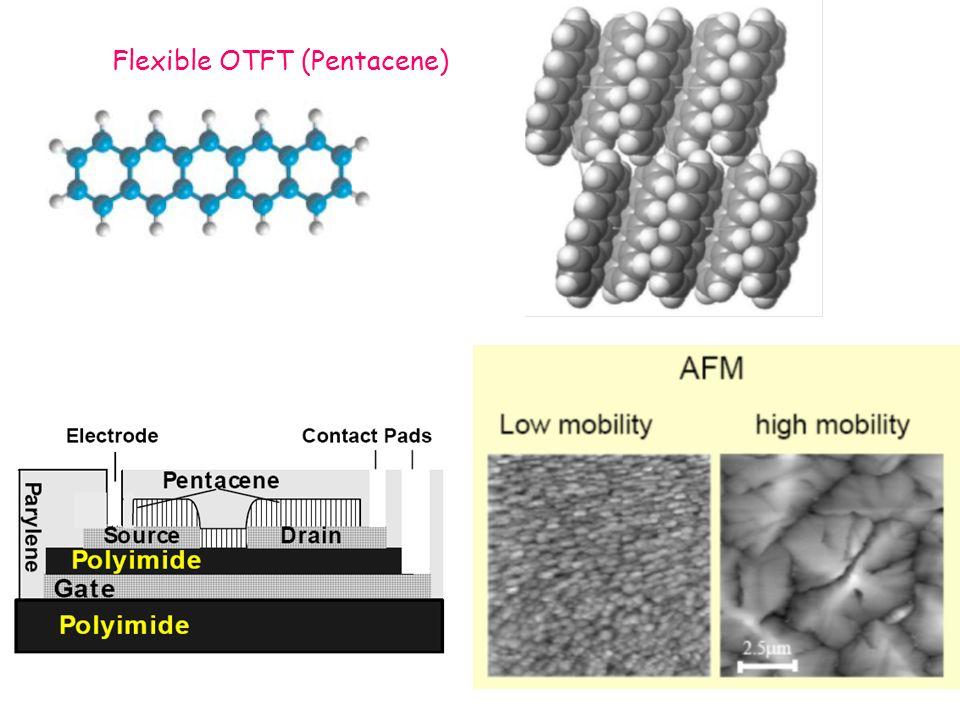 Flexible OTFT (Pentacene)