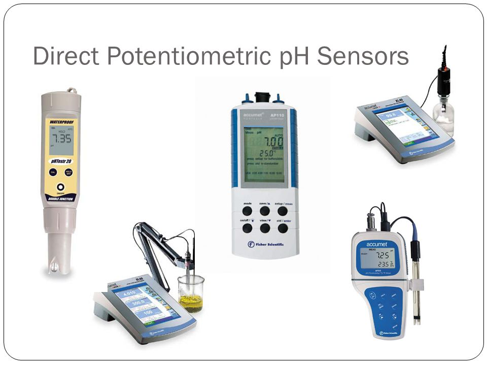 Electrochemical Methods Applications in Environmental Analysis Direct Potentiometric pH Sensors