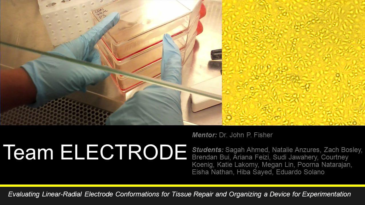 Team ELECTRODE Mentor: Dr. John P.