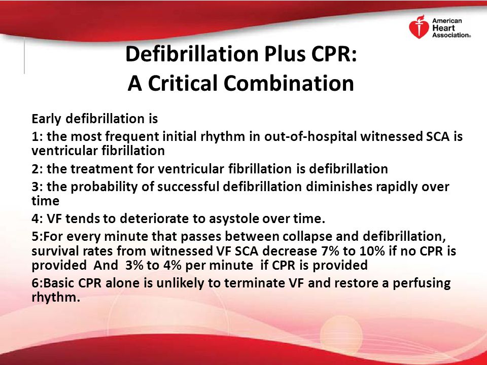 Shock First Versus CPR First When any rescuer witnesses an out-of-hospital arrest and an AED is immediately available on-site, the rescuer should start CPR and use The AED as soon as possible.