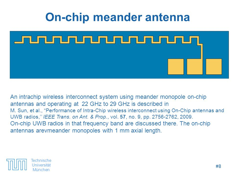 Technische Universität München #29 Contents 1.Introduction 2.CMOS Integrated Antennas 3.Nanoantennas with MOM Tunnel Diodes 4.Nanoantennas Based on Carbon Nanotubes and Graphene 5.Alternative Materials and Fabrication Techniques 6.Outlook