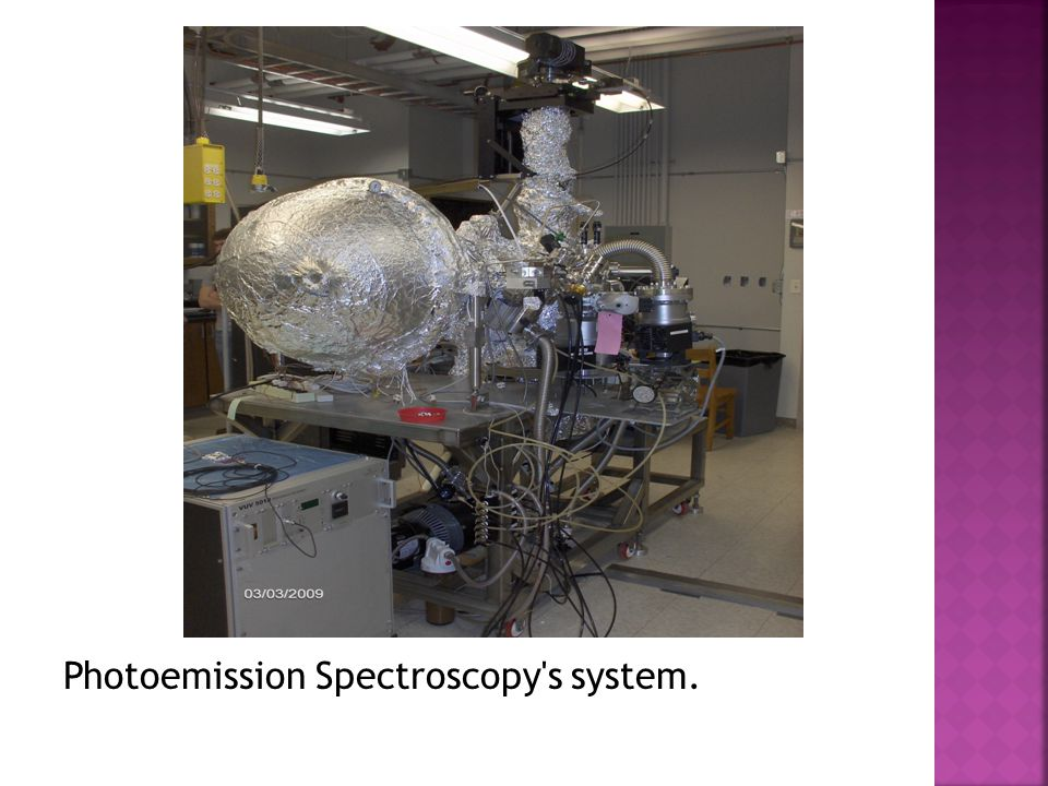 Photoemission Spectroscopy s system.