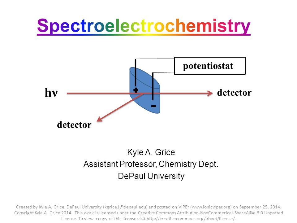 Kyle A. Grice Assistant Professor, Chemistry Dept.