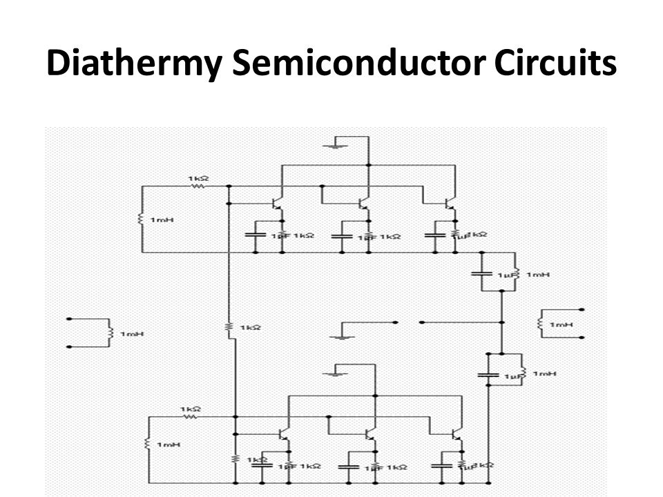 Diathermy Semiconductor Circuits