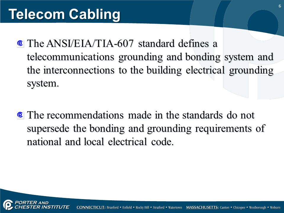 27 Telecom Cabling All ground clamps are listed for a specific conductor size and whether or not they can be used for a single connection or multiple connections.