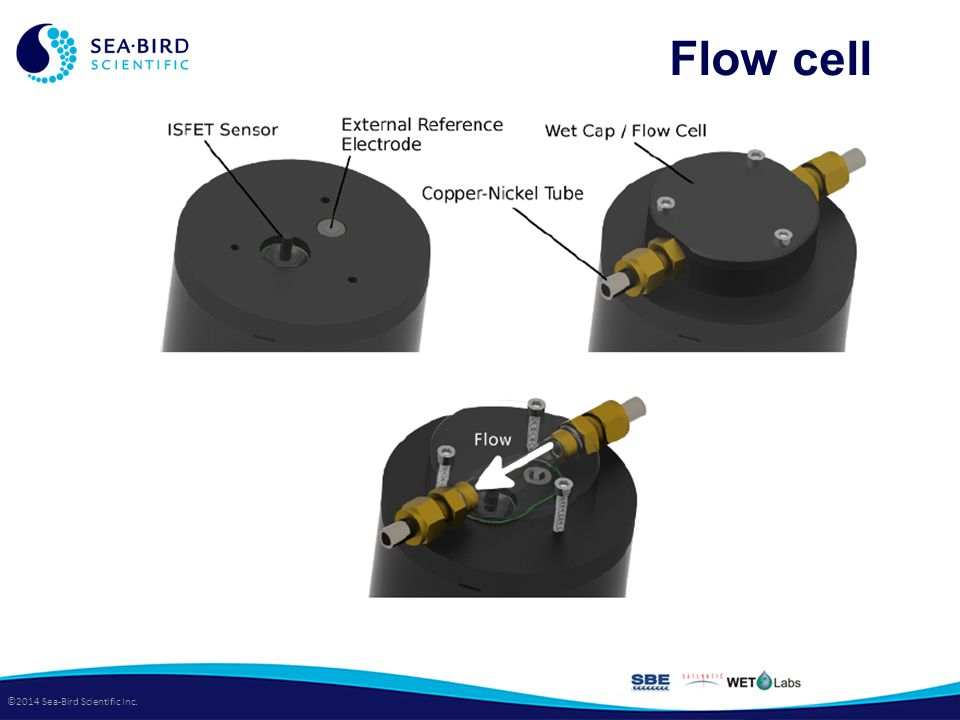 ©2014 Sea-Bird Scientific Inc. Flow cell