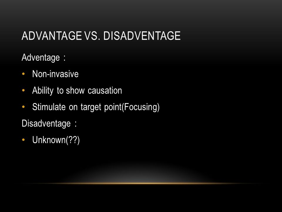 ADVANTAGE VS.