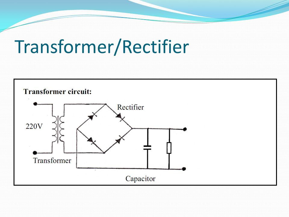 Transformer/Rectifier