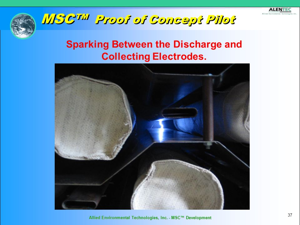 MSC™ Proof of Concept Pilot 37 Allied Environmental Technologies, Inc.