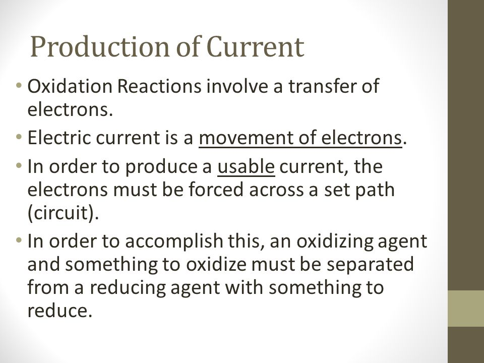 Copyright © Cengage Learning. All rights reserved 15 Voltaic Cell: Cathode Reaction